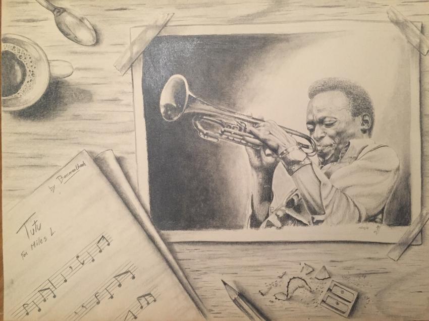 Miles Davis by jazz